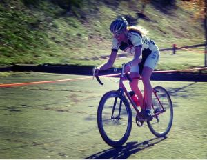 Cyclo-cross racer (courtesy of Bob Mical, Small_Realm, creative commons)