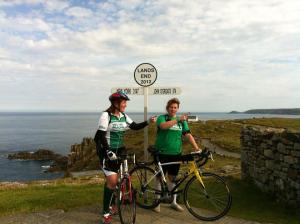 Raising money for Macmillans, one of greatest sporting achievements
