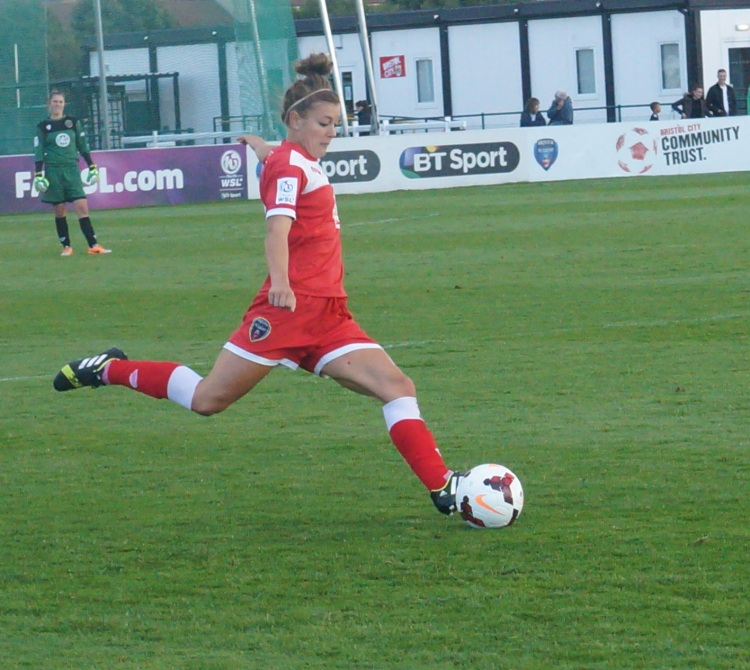 New club captain, Jemma Rose, Bristol Academy