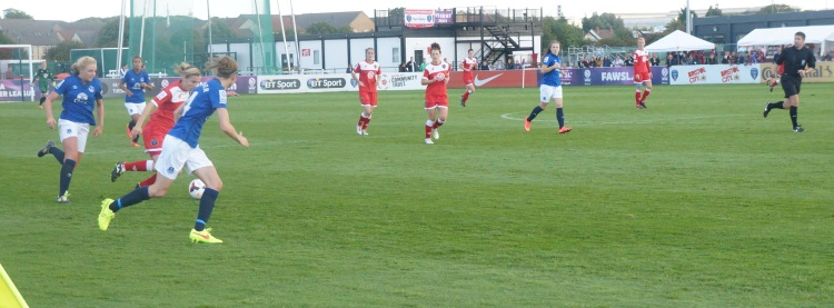 Vixens in action at Stoke Gifford Stadium