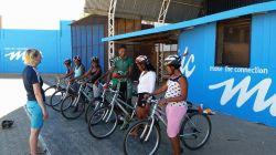 Coaching with PJ in Katatura, Windhoek.